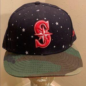 New Era Seattle Mariners 7 5/8 SE Military Hat